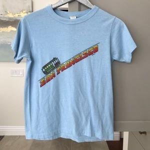 Vintage 70s 80s San Francisco trolly T-shirt